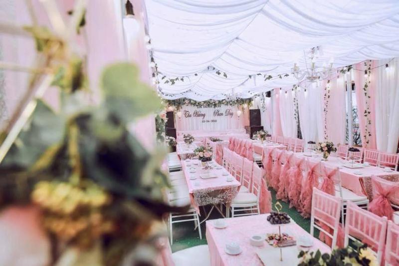 Dịch vụ trang trí tiệc cưới Nắng Wedding