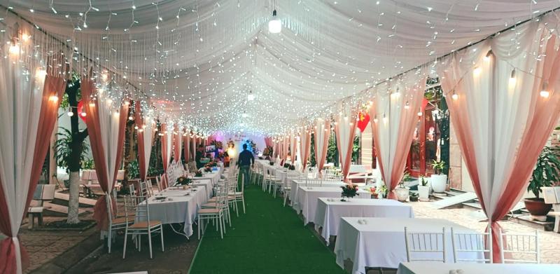 Dịch vụ trang trí tiệc cưới Nhà rạp Phương Anh