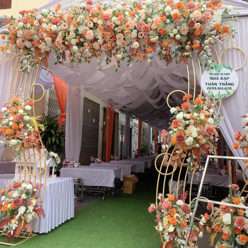 Dịch vụ trang trí tiệc cưới Nhà Rạp Toàn Thắng