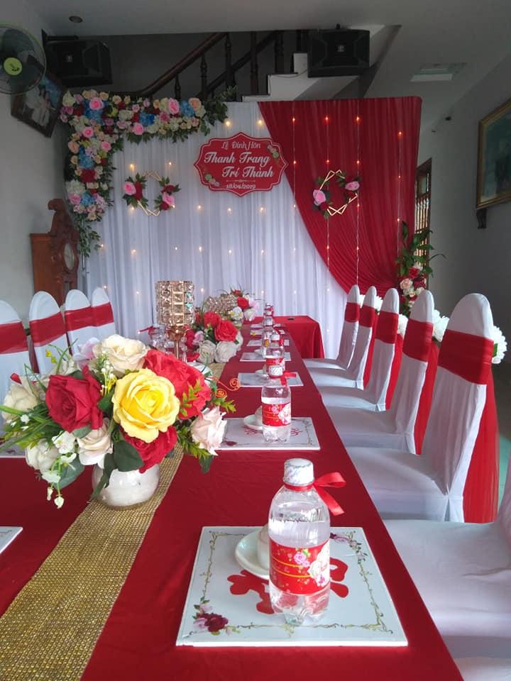 Dịch vụ trang trí tiệc cưới Phi Phi