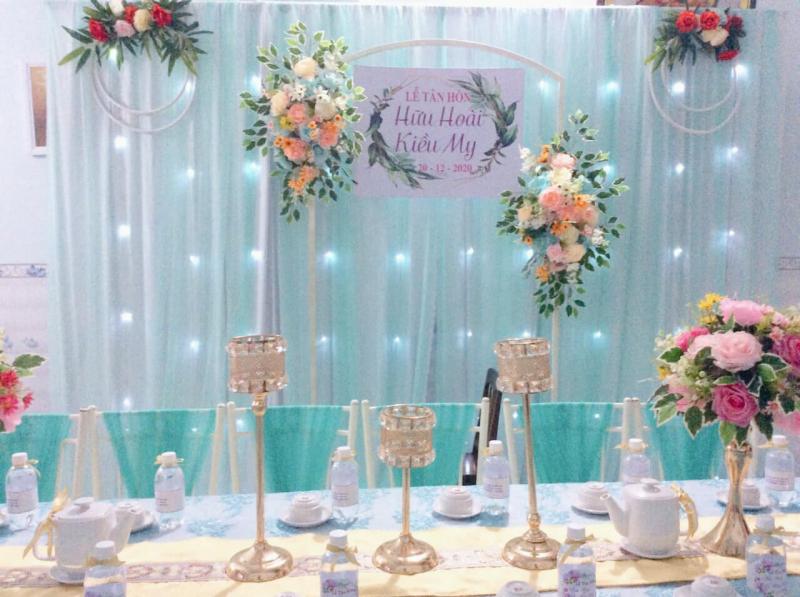 Dịch vụ trang trí tiệc cưới Phú Quý