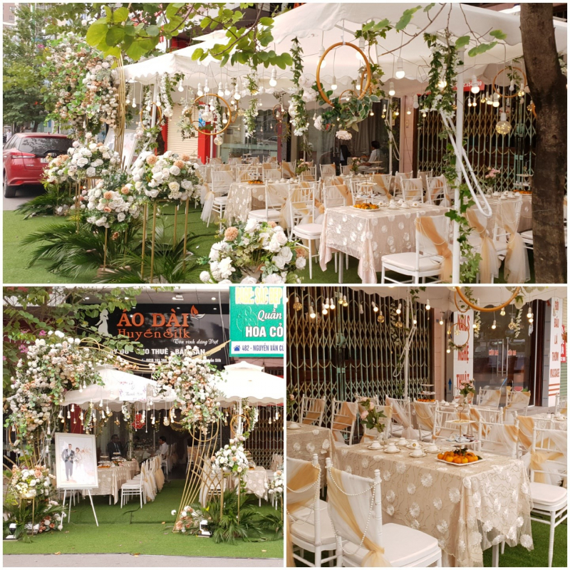 Dịch vụ trang trí tiệc cưới Phương Anh