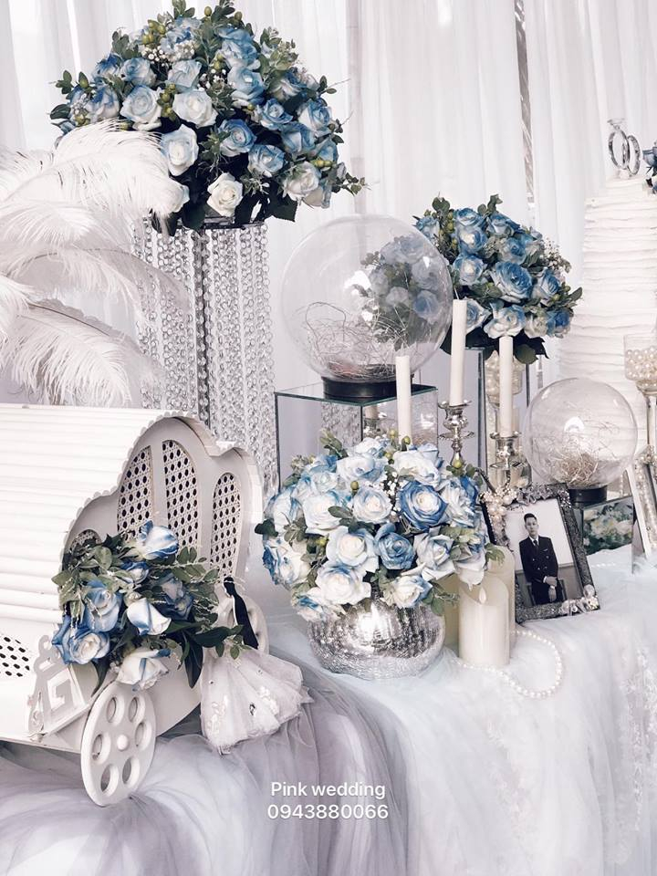 Dịch vụ trang trí tiệc cưới Pink Wedding & Event
