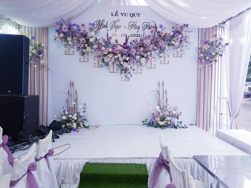 Dịch vụ trang trí tiệc cưới SƠN HẢI Wedding Planners