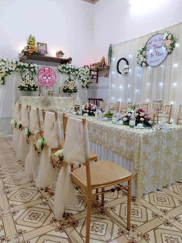Dịch vụ trang trí tiệc cưới Song Hỷ