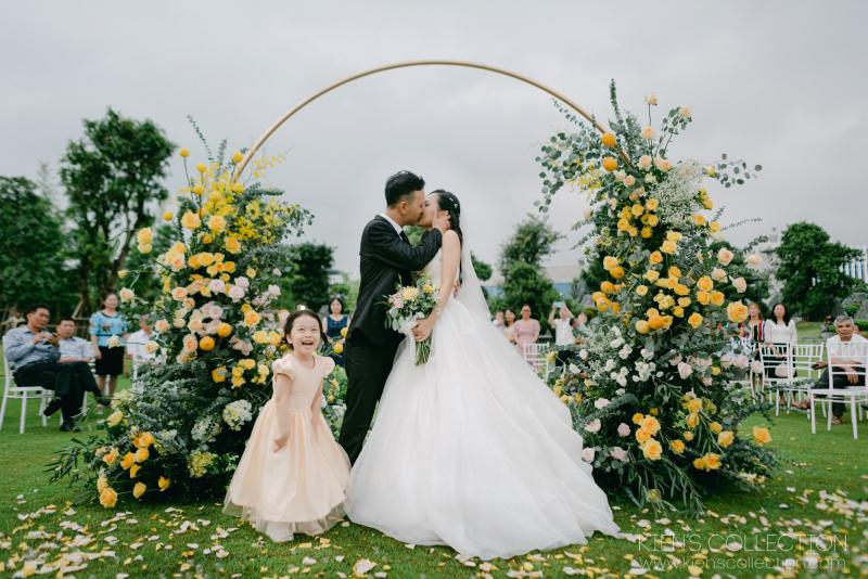 Dịch vụ trang trí tiệc cưới tại WedinStyle