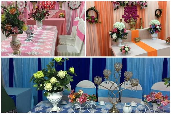 Dịch vụ trang trí tiệc cưới Thanh Hương