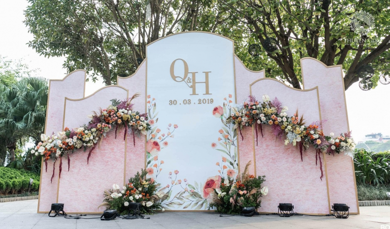 Dịch vụ trang trí tiệc cưới Thảo Rosy