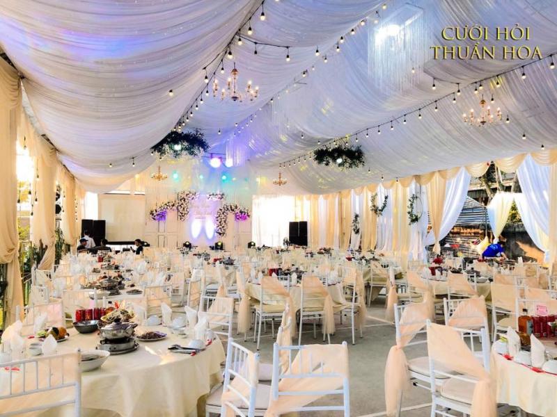 Dịch vụ trang trí tiệc cưới Thuần Hoa (Rạp cưới Thuần Hoa)