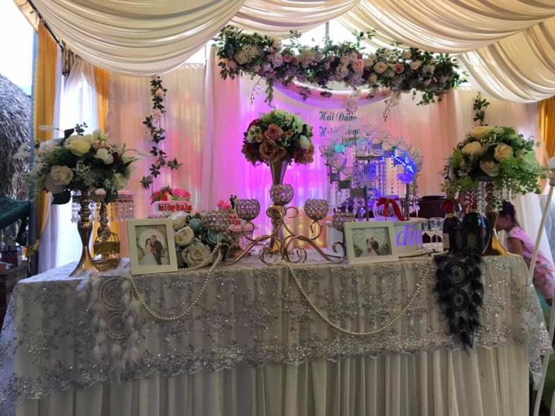 Dịch vụ trang trí tiệc cưới Tony Hậu Event