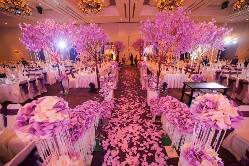 Dịch vụ trang trí tiệc cưới tại Lavender