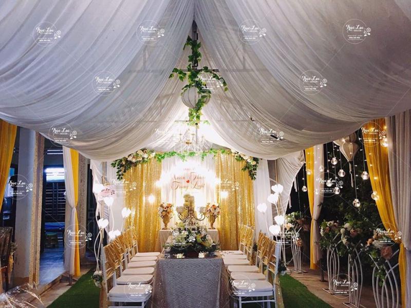 Dịch vụ trang trí tiệc cưới Trúc Lai Decor