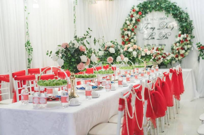 Top 9 Dịch vụ trang trí tiệc cưới đẹp và uy tín nhất TP. Vinh, Nghệ An