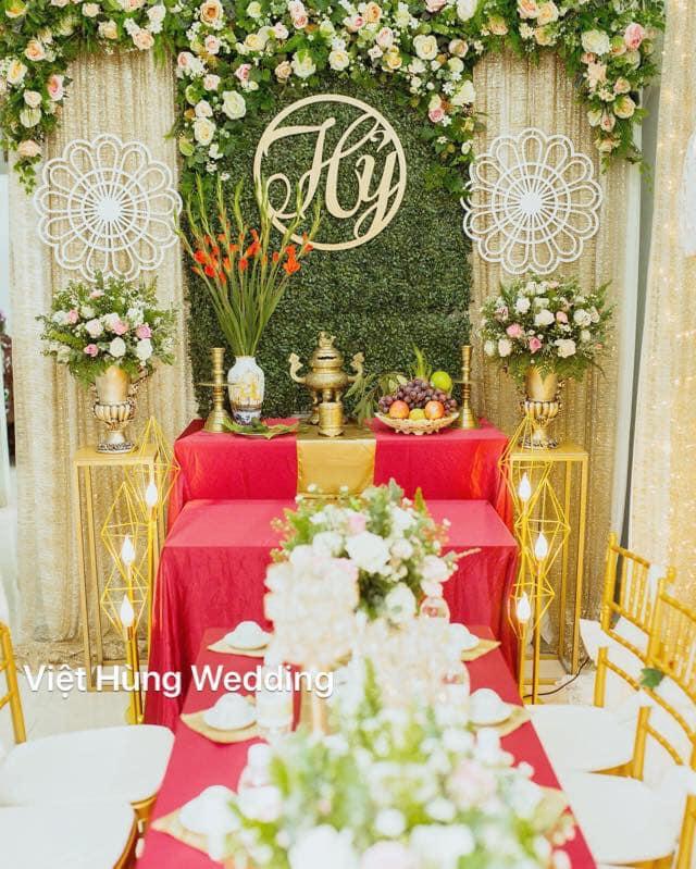 Dịch vụ trang trí tiệc cưới Việt Hùng
