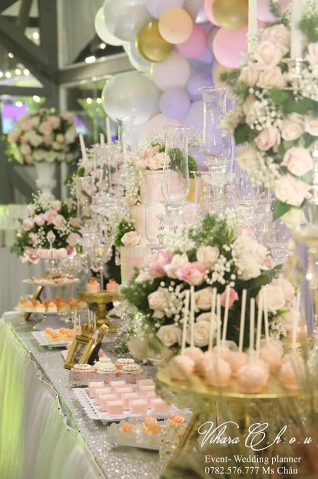 Dịch vụ trang trí tiệc cưới Vihara Chou - Event & Wedding Planning