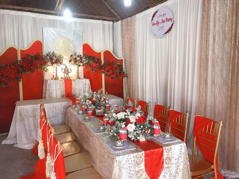Dịch vụ trang trí tiệc cưới Wedding Decor Duyên Lâm