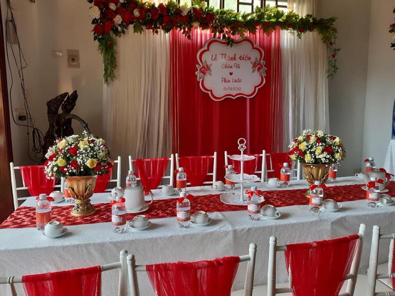 Dịch vụ trang trí tiệc cưới Yến Nhi