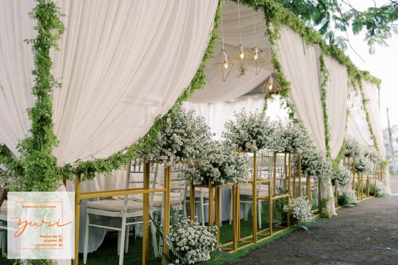 Dịch vụ trang trí tiệc cưới Yuri Decor