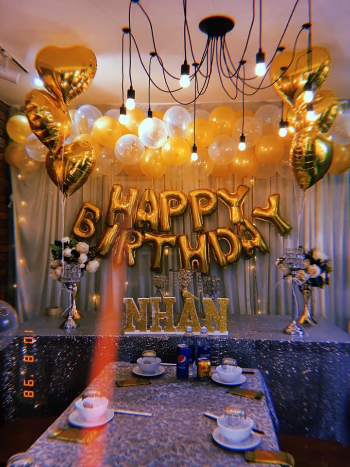 Đức Balloons nhận trang trí tiệc theo yêu cầu của khách