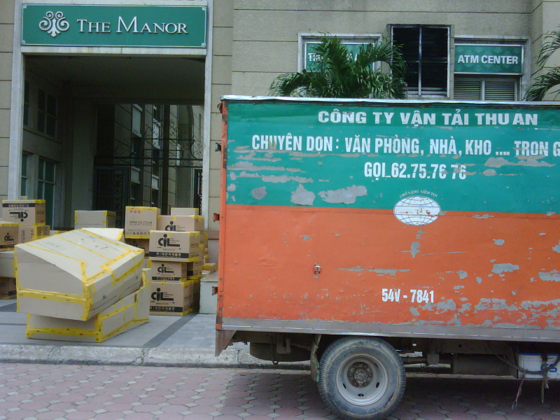 Dịch vụ vận chuyển Thu An (Vanchuyentrongoi.org)