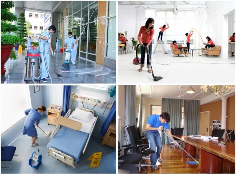 Dịch vụ dọn nhà bình dương với nhà biệt thự