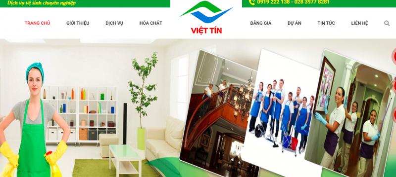 Dịch vụ vệ sinh công nghiệp Việt Tín