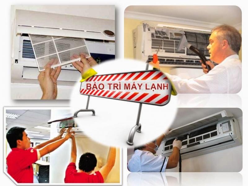 Dịch vụ bảo trì máy lạnh Nguyễn Kim