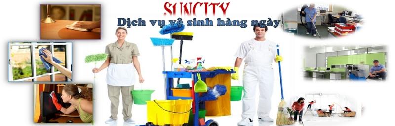 Sun City còn mang đến dịch vụ vệ sinh hằng ngày cho văn phòng của bạn