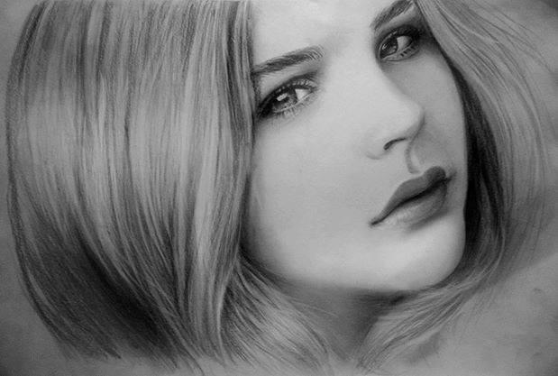 Để vẽ lại một bức ảnh đòi hỏi người họa sĩ phải có ý chí kiên trì, cần mẫn, tập trung cao độ