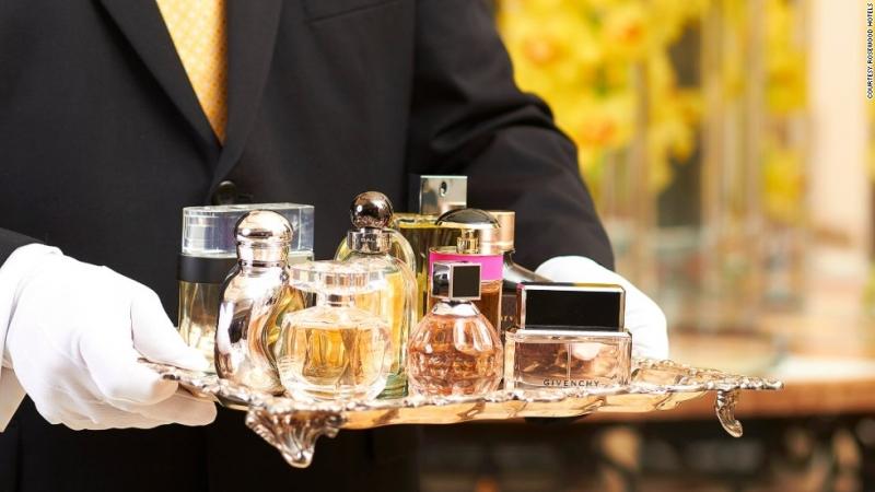Dịch vụ xức nước hoa theo yêu cầu của hệ thống khách sạn và resort Rosewood