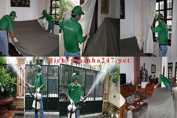Quy trình thực hiện của dịch vụ tại nhà 247