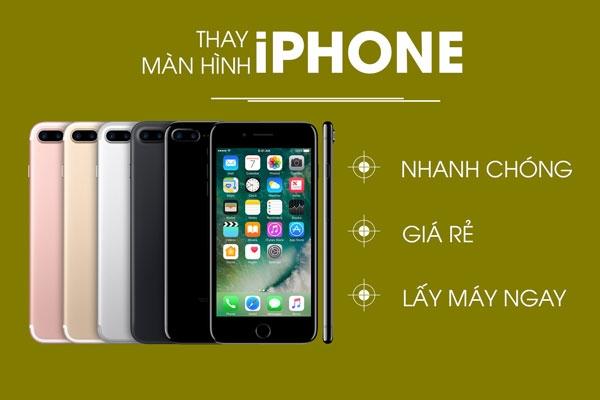 Top 6 địa chỉ thay màn hình điện thoại Iphone 6plus, 6s plus ở TP. HCM