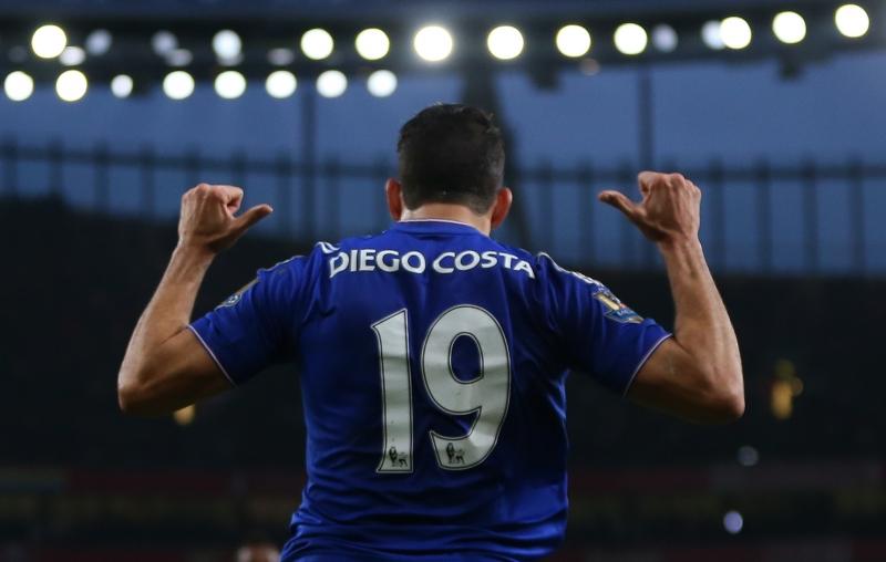 Diego Costa luôn là nỗi ám ảnh với các hàng phòng ngự