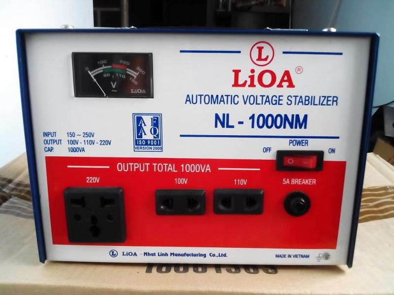 Ổn áp để điều chỉnh điện áp cho tủ lạnh
