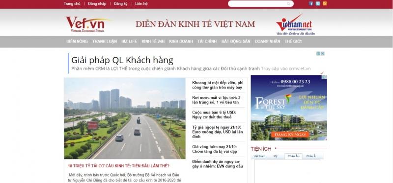 Diễn đàn kinh tế Việt Nam (VEF)
