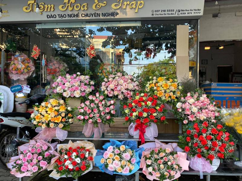 Điện Hoa Ga Yên Bái - Anh Thư flower