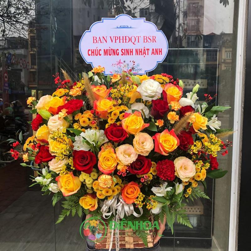 Bó hoa hồng sinh nhật độc đáo này giá 1.170.000 đồng.
