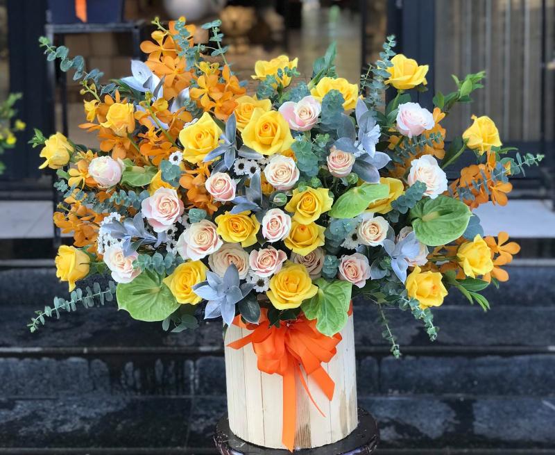 Cửa hàng Điện hoa Tường Vi