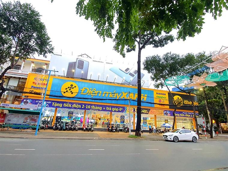 Điện máy Xanh: Số 8 đường Hòa Bình, phường An Cư, quận Ninh Kiều, TP. Cần Thơ