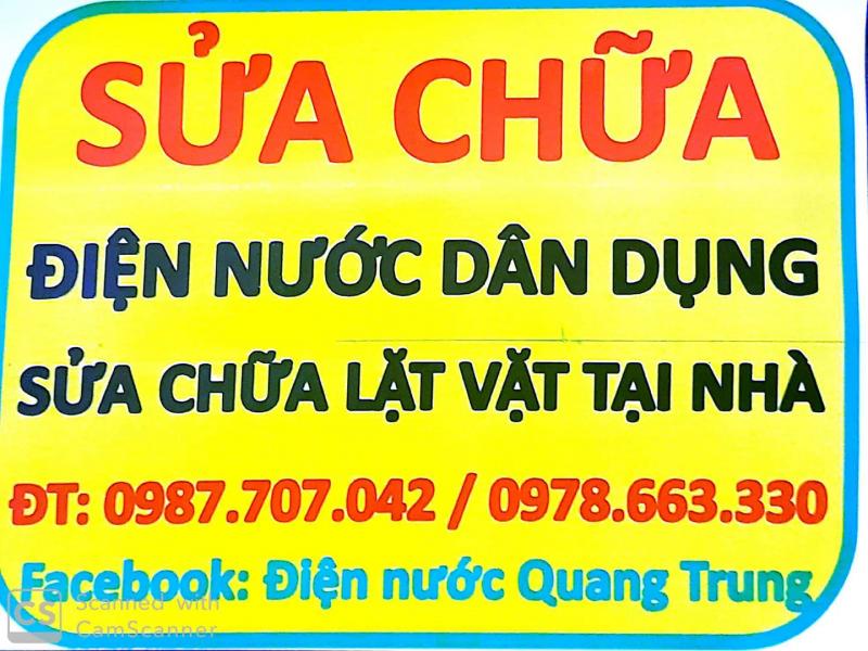 Điện Nước Quang Trung