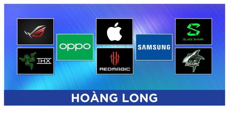 Các thương hiệu Điện thoại Cần Thơ - Hoàng Long cung cấp