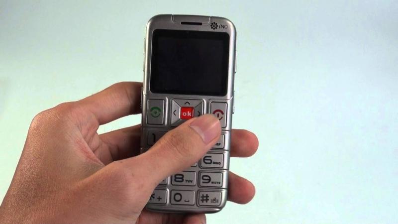 Điện thoại iNO F12 - Chiếc điện thoại cho người già phù hợp nhất