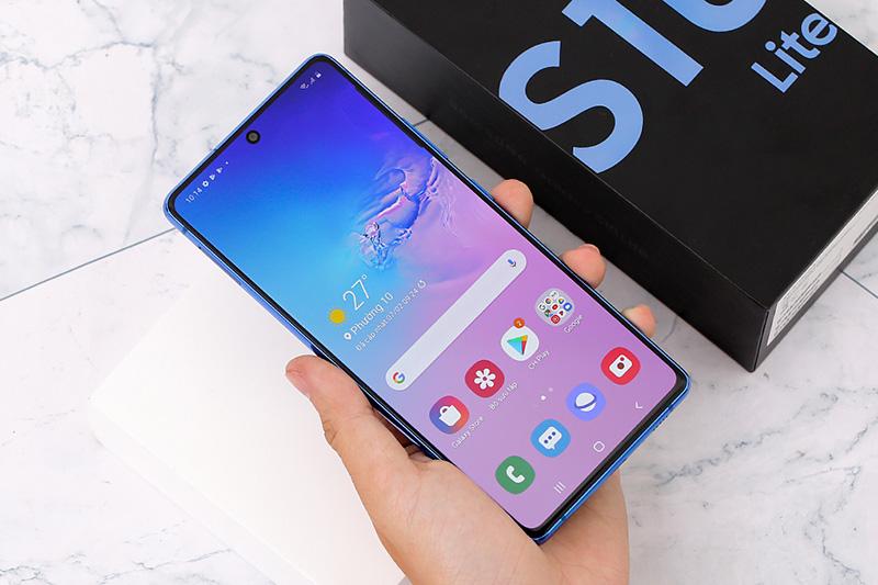 Điện thoại Samsung Galaxy S10 Lite