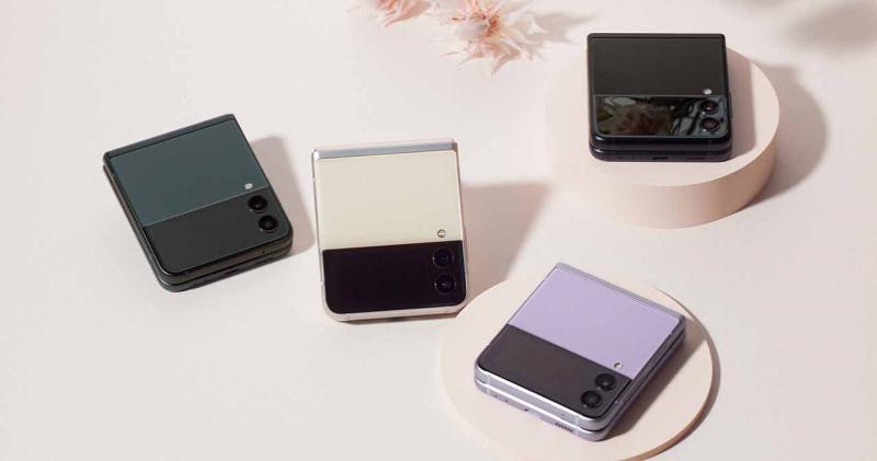 Điện thoại Samsung Galaxy Z Flip3 5G 128GB