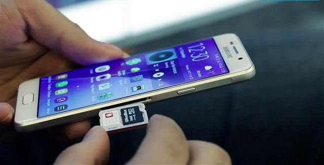 Điện thoại Samsung không nhận SIM