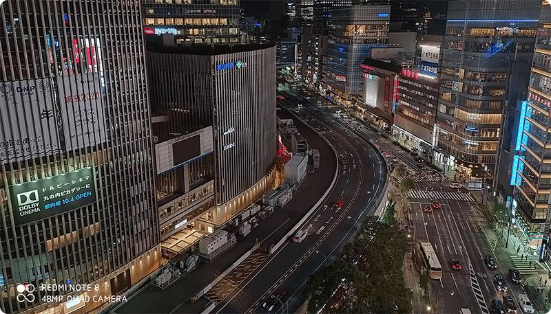 Ảnh chụp ban đêm của Xiaomi Redmi Note 8 4GB/128GB