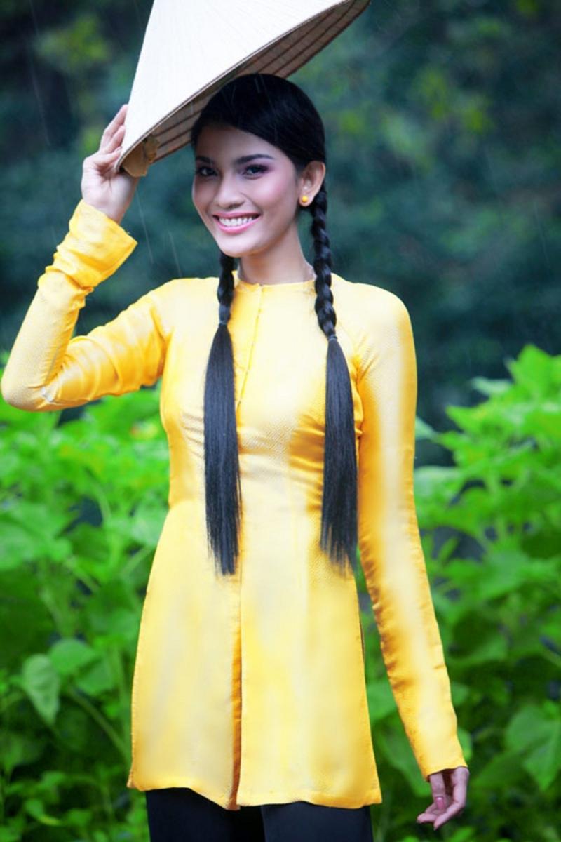 Mẫu áo truyền thống mang đầy vẻ đẹp duyên dáng