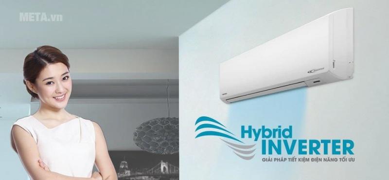 Công nghệ Inverter có khả năng thay đổi công suất nguồn điện của thiết bị sao cho phù hợp nhất nhằm tiết kiệm năng lượng