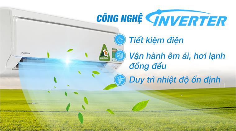 Điều hòa 2 chiều Inverter Daikin FTXS25GVMV/RXS25GVMV, 9.000BTU