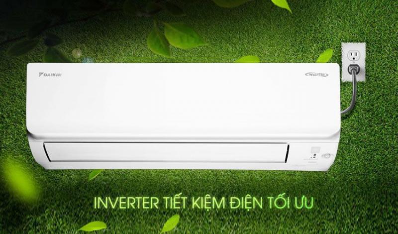 Điều Hòa Daikin 12000Btu 1 Chiều Inverter FTKA35UAVMV/RKA35UAVMV
